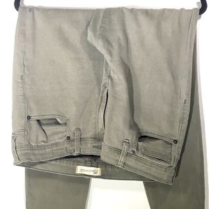 High Rise Green Skinny Madewell Jeans- size 31